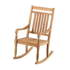 Rocking Chair Teak Wood Rocking Teak Rocking Chair It 130752t The Home Depot