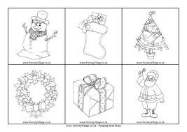 christmas picture cards black white