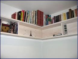 Bookshelves Decorating Ideas by Diy Corner Wall Bookshelves With Built In Bookshelves Decorating