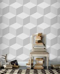 geometri 3d wallpaper living room with ethnic carpet cool 3d
