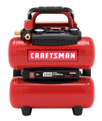 craftsman 4 gallon oil free twin tank compressor 155 max psi