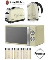 Russel Hobbs Toaster Russell Hobbs Kettle And Toaster Set Microwave U0026 Cream Tea