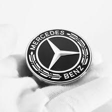 mercedes emblem black ebay