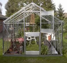 serre horticole en verre serre de jardin juliana compact plus alu 9 9m2 verre horticole