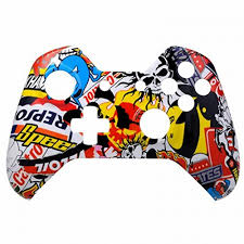 xbox one controller black friday amazon mod freakz xbox one controller front shell hydro dipped sticker