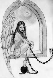 crying angel girls 3d pencil drawings drawing of sketch