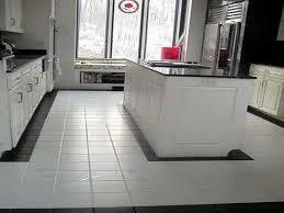 Kitchen Floor Designs Ideas White Tile Floor Kitchen