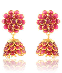 pachi earrings adiva traditional pachi earrings buy adiva traditional