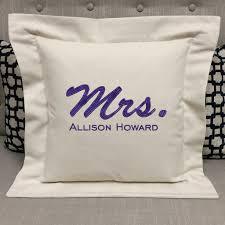 wedding pillows wedding mrs pillow forever pillows
