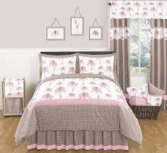 Pink And Brown Comforter Sets Bedding Shop Cafeyak Com