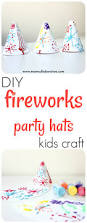 4th of july fireworks party hats craft for kids u2022 mom collaborative