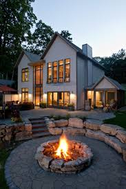 Fire Pit Backyard by 48 Best Backyard Images On Pinterest Gardening Landscaping And