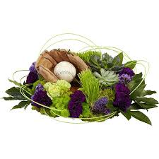 s day floral arrangements baseball fan sympathy flower arrangement oasis floral ideas