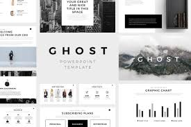 keynote themes compatible with powerpoint ghost minimal powerpoint template keynote and google slides theme