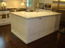 kitchen island countertop ideas blue island color ideas white subway tile backsplash