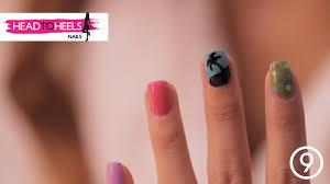 summer themed beach nail art tutorial head to heels ep 12