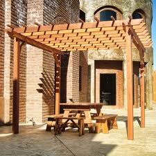 8 X 10 Pergola by Pergolas Gazebos Outdoor Shades