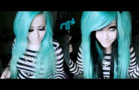 Color Hair Extension by How To Make Huge Two Color