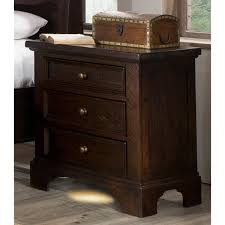 End Table With Charging Station by Nightstands Costco