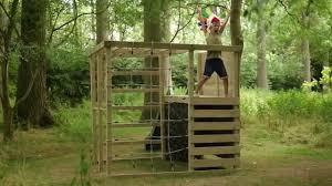 plum climbing cube wooden play centre youtube