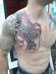chest and half sleeve tattoos chinese dragon half sleeve tattoo google search my tattoo