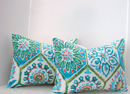 Lumbar Pillows For Sofa by Bedroom Remarkable Turquoise Pillow Decorative For Wondering