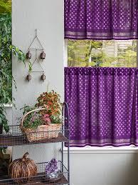 Tier Curtains Kitchen by Dark Purple Kitchen Curtain Plum Purple And Gold Tier Curtains