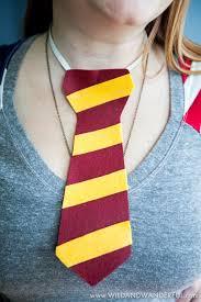 halloween ties diy harry potter house ties u2014 wild u0026 wanderful