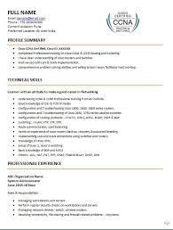 Optician Resume Sample by Ccna Resume Resume Cv Cover Letter
