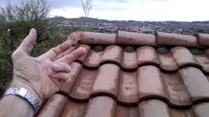 S Tile Roof S Tile Roofing Systemic Problem Stretched Courses Exposed