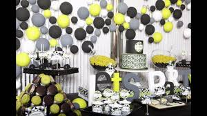 50th Birthday Centerpieces For Men by Birthday Ideas For Husband Youtube