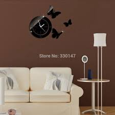 watch on wall picture more detailed picture about home decor diy