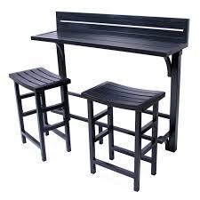 Balcony Bistro Set Patio Furniture by 3pc Balcony Bar U2013 Miyu Furniture