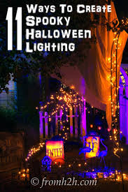 11 ways to create spooky halloween lighting spooky halloween
