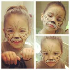 cheetah face paint kids pinterest cheetah face paint