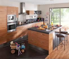 cuisine avec ilot table modele ilot central cuisine en image