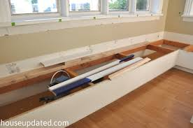 How To Make A Banquette Bench Eating Area Archives Page 2 Of 2 House Updated