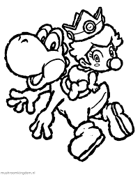 peach colouring pages