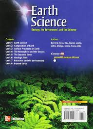 earth science geology the environment and the universe hess