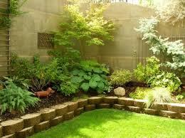 Tiered Backyard Landscaping Ideas Garden Design Garden Design With Three Tier Sculptured Shrubs