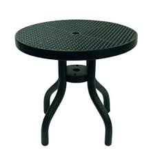 outdoor furniture side table round patio coffee table taihaosou com