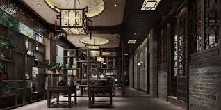 chinese interior design teahouse interior design in chinese retro style download 3d house