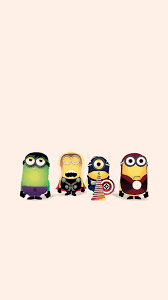 hd cartoon avengers minion apple iphone plus wallpaper despicable