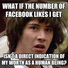 Facebook Likes Meme - what if the number of facebook likes i get isn t a direct