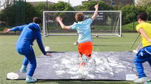 Challenge W2s Slip N Slide Football Challenge