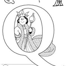 Coloring Page Letter Q Kids Drawing And Coloring Pages Marisa Coloring Pages Q