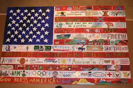 Display Of The American Flag Rules Middle American Flag Art Project Kids Craft And Art Ideas