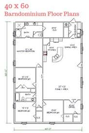 building home plans 40x60 barndominium floor plans search house plans