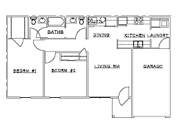 floor plan for two bedroom house two bedroom house plans with garage homes zone