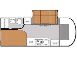 Class C Floor Plans 2017 Thor Motor Coach Gemini 23tk Wilmington Nc Rvtrader Com
